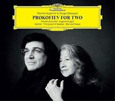 Martha Argerich Sergei Babayan - Prokofiev For Two (NEW CD)
