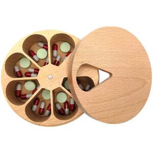 Weekly 7 Day Week Pill Box Daily Organiser Medicine Tablet Dispenser Storage