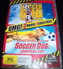 Soccer Dog The Movie / Soccer Dog European Cup (Australia Reg 4) DVD - New