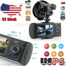GPS Dashcam Car Camera Blackbox Car Camcorder Video Registrator Dual Camera DVR