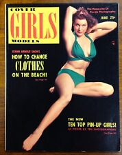 8d163486c0ac6 COVER GIRLS MODELS Pinup Magazine 1952 Modern Man Claude Cole Marilyn Monroe  MT