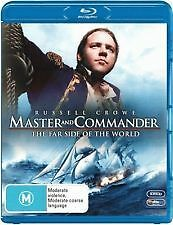 MASTER AND COMMANDER BLU RAY - NEW & SEALED RUSSELL CROWE, PETER WEIR