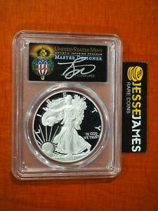 2017 W PROOF SILVER EAGLE PCGS PR70 TORCH CLEVELAND FROM 2020 WP MINT HOARD!