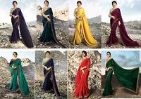 Pakistani Ethnic Saree Sari HEAVY RANGOLI SILK Sari Indian Festival Wearing Sari