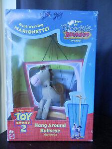 bullseye Disney Toy Story 2 HANG AROUND BULLSEYE Marionette 1999