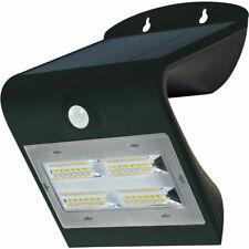 Luceco SOLAR Guardian 3.2W PIR Wall Light IP44 Black 400lm