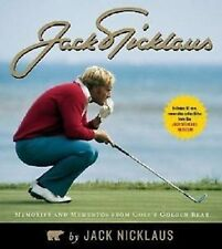 Jack Nicklaus Memories Mementos from golf Golden Bear with 10 museum collectable