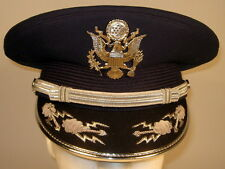 US Air Force Male Band or Honor Guard Field Officer Dress Hat Cap 7 1/2 or 60