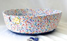 Cat Bed, Dog Bed, Cotton Pet Furniture, Handmade by Wexford Treasures