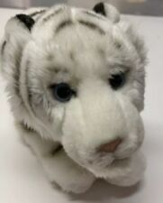Ganz White Tiger Stuffed Animal 18 Inch Long With Tail, No Code