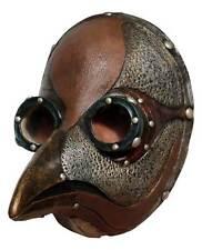 Men's Peste di Venezia PLAGUE DOCTOR Death Bird Latex Steampunk Costume Mask