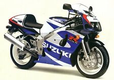 SUZUKI 2 COLOUR TOUCH UP PAINT KIT GSXR600/750, GSXR1000, GSX1400 BLUE AND WHITE