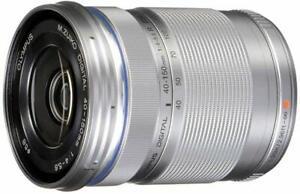 Olympus M.Zuiko Digital ED 40-150mm F4.0-5.6 R Lens for Micro Four Thirds Silver