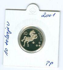 Slowenien 10 Tolar 2001 PP  Nur 800 Stück!