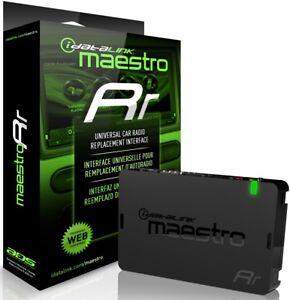 ADS-MRR MAESTRO RR / IDATATLINK / RADIO REPLACEMENT & STEERING WHEEL INTERFACE