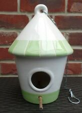 Decorative Ceramic Hanging Bird Box