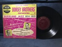 "Dorsey Brothers Orchestra 1951 Vol. 1 Dixieland Jazz 10"" Decca RARE EARLY JAZZ"