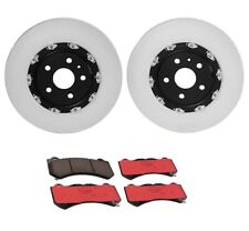 Brembo Front Brake Kit 370mm Disc Rotors Ceramic Pads For Camaro ZL1 CTS V 6.2L