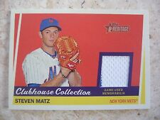 2016 Topps Heritage Clubhouse Collection#CCR-SMAT Steven Martz Jersey Card