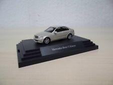 Busch 1:87- Mercedes-Benz C-Klasse Avantgarde (W 204) - perlbeige-met. - Werbem.