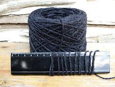 10 x 100g EBONY New Bulk Wool. 1,850m Knitting Weaving Rug Carpet Yarn.  27-3161