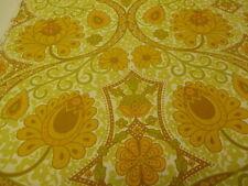 Sanderson Vintage British 1960's Linen Curtain Uphostery Fabric KEW -  PER MT