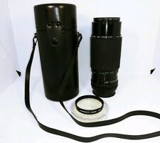 Camera Lens 80-200mm For Konica Sigma High Speed Zoom f3.5~4 w/Case Cap & Macro