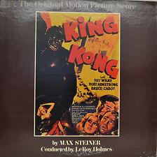 "OST - SOUNDTRACK - KING KONG - MAX STEINER 12"" LP (M844)"
