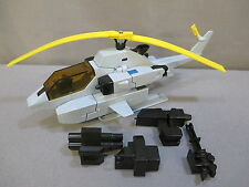 """Transformers G1 """"WHIRL"""" 100% Complete Helicopter C8++ *VINTAGE* 1985"""