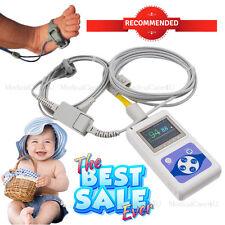 NEW Born Kids Bambino utilizzando Pulsossimetro SPO2 Monitor neonato polso USB SW