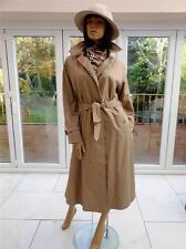 NUOVO Donna BURBERRY Trench Impermeabile MAC UK 12-14 USA 10-12; F 40-42 D 38-40