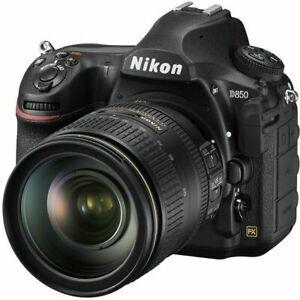 Nikon D850 45.7 MP Digital SLR Camera - Black (Kit with AF-S 24-120MM f/4 VR...
