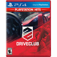 OPENBOX Drive Club DriveClub Sony Ps4 Sony Playstation 4 Hits