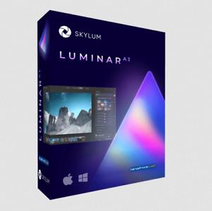 Skylum Luminar AI 1.0.1 2021 ✔ Latest Version ✔ Lifetime ✔️ Window ✔️ Mac✔️