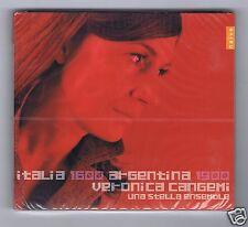 ITALIA 1600 ARGENTINA 1900 CD NEW VERONICA CANGEMI/ UNA STELLA ENSEMBLE