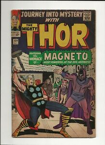 Journey into Mystery #109 1964 Marvel Silver Age Magneto VG