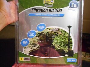 Tetra Pond Complete Fountain and Filtration Kit 325 GPH