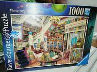 Ravensburger 19799 The Fantasy Bookshop Jigsaw Puzzle - 1000 Pieces Complete