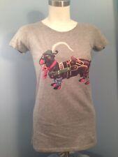 Nwt Continental Clothing Servus Heimat Dachshund Screen Print T-Shirt Small