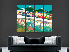 SOUTH PARK DIGITAL ART WALL LARGE IMAGE GIANT POSTER