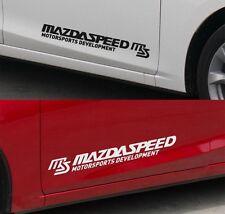2x Car decal sticker Mazda 2,3,6 speed