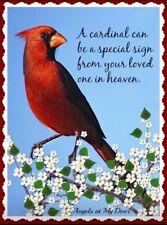 Red Cardinal Blessed Bird #2  Refrigerator / Locker / Tool Box  Magnet
