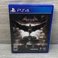 Batman: Arkham Knight (PlayStation 4 PS4) Complete CIB Free Shipping