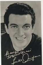 Frankie Vaughan Promotional Card, B590