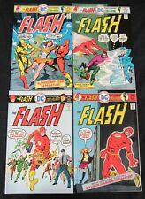 The Flash High Grade DC Bronze Age Lot Run 237, 238, 239, 240 Comic Books C299