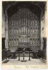 "Angleterre, retable (""reredos"") de la chapelle All Souls de l'Université d&"