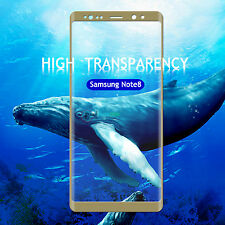 Clear Full Curved 3d Tempered Glass Screen Protector for Samsung Galaxy Note 8 Gold