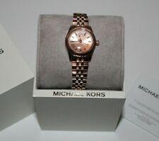 Michael Kors Petite Lexington Rose Gold-tone Watch MK3875 Women's