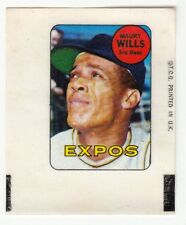 [59098] 1969 TOPPS DECALS MAURY WILLS MONTREAL EXPOS #46