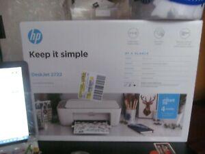 HP DeskJet 2722 All-in-One Wireless Printer BRAND NEW